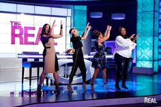 """The Real"" is led by 4 bold, diverse and outspoken hosts - Adrienne Bailon, Loni Love, Jeannie Mai & Tamera Mowry-Housley"