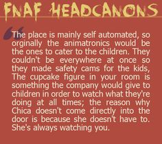 Fnaf fact I'LL SEE YOU ALL IN THERAPY