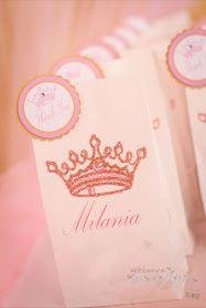 Little Big Company | The Blog: Pink Royal Princess Party for Milania's 1st Birthday by Natalie.