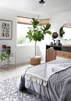 Woodsy Bedroom Makeover