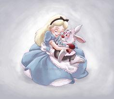 Disney: Alice: Alice in Wonderland: Disney Princesses: allix - in loving memory by briannacherrygarcia.deviantart.com on @deviantART