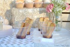 French Toast Sticks Dipped in Syrup - yummy food for a breakfast party!