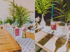 geo wedding ideas - photo by Amber Gress http://ruffledblog.com/new-york-meets-palm-springs-wedding