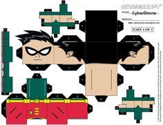 Cubee - Robin '1of2' by CyberDrone.deviantart.com on @deviantART