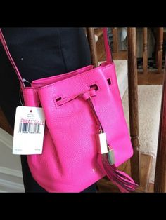 My NWT Authentic Kate Spade Grey Street Pink With Soft Pebbled Leather Tiny Cooper FINAL by Kate Spade! Size  for $$95.00. Check it out: http://www.vinted.com/womens-bags-and-backpacks/wallets/22108899-nwt-authentic-kate-spade-grey-street-pink-with-soft-pebbled-leather-tiny-cooper-final.