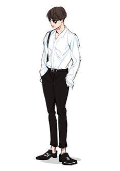 Jimin Fanart, Kpop Fanart, Bts Drawings, Cartoon Drawings, Character Art, Character Design, Fashion Drawing Dresses, Dream Pictures, Men Vs Women