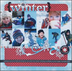 Frosted Titles for Your Scrapbook Layouts | January 2011 | Creating Keepsakes