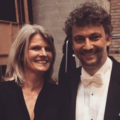 "6 Likes, 1 Comments - Viv Hannides (@vivhannides) on Instagram: ""With Jonas Kaufmann,  back stage after a fantastic concert version of Andrea Chenier #tce #opera…"""