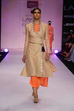 Neeta Lulla coat dress
