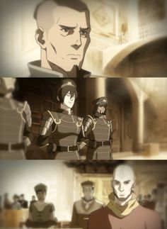 Sokka, Toph and  Aang Adults  Avatar: The legend of Korra