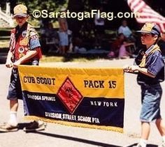 Cub Scout Parade Banner
