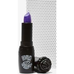 Medusa's Makeup Lipstick (16 CAD) ❤ liked on Polyvore featuring beauty products, makeup, lip makeup, lipstick, bright lipstick, mac lipstick, lips makeup, purple lips makeup en vegan lipstick
