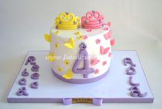 Torta Principesse Gemelle     Fate di Zucchero - Cake Designers