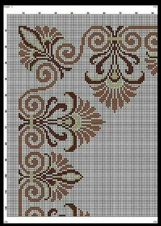 Saw this on dark fabric done with white/cream no. 8 perle cotton Saw this on dark fabric done with white/cream no. Xmas Cross Stitch, Cross Stitch Borders, Cross Stitch Rose, Cross Stitch Flowers, Cross Stitch Designs, Cross Stitching, Cross Stitch Patterns, Ribbon Embroidery, Cross Stitch Embroidery