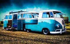 Articulated (Fifth Wheel) VeeDub Camper