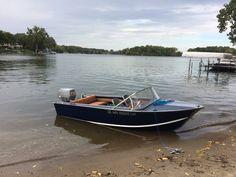 14' Starcraft Falcon Ski Boats, Sport Boats, Motor Boats, Aluminum Fishing Boats, Aluminum Boat, Make A Boat, Float Your Boat, Yacht Design, Boat Design