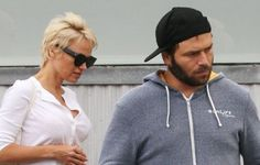 After filing for divorce last week from Rick Salomon, actress Pamela Anderson has reportedly asked his daughters and his dog to leave her house.