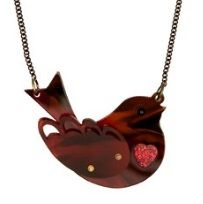 Robin Necklace - Tortoiseshell £35 - AW15 Contemporary