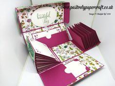 Positively papercraft: Exploding Box Mini Album!!