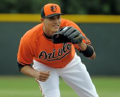 Manny Machado  Orioles third baseman Manny Machado participates in a fielding drill during spring training at the Ed Smith Stadium complex in Sarasota, Fla.  http://www.baltimoresun.com/sports/orioles/bal-orioles-spring-training-2015-photogallery.html#lightbox=82855922&slide=1
