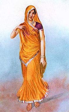 vintage saree