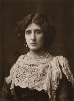 Lady Ottoline Morrell  by Henry Walter Barnett- 1902