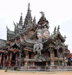 Sanctuary of Truth, Pattaya, Thailand