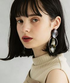 (notitle) Portrait Inspiration, Hair Inspiration, Looks Party, Beauty Makeup, Hair Beauty, Brunette Makeup, Minimal Makeup, Aesthetic People, Hair Reference