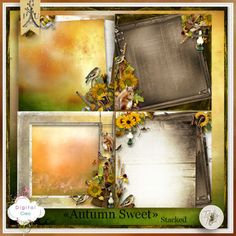 Autumn Sweet de Tif Scrap - stacked papers