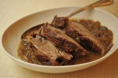 Cider-Braised Pork Shoulder with Caramelized Onion and Apple Confit Recipe | Food Recipes - Yahoo Shine