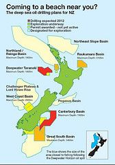 New Zealand's government is preparing to risk our blue gold - the beautiful sea and beaches