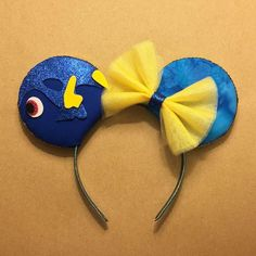 Finding Dory Mouse Ears Dory Inspired Ears by GreatestAdventure