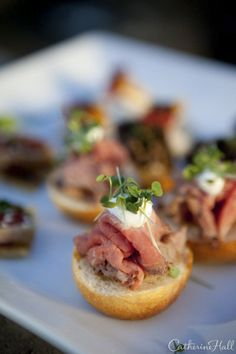 Decadent Appetizers via. Viansa Winery