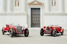 Alfa Romeo: le auto d'epoca ufficiali della Mille Miglia 2018