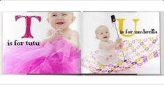 Pic of letters of alphabet/book by shutterfly
