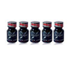 Poppers Super Rush Black Label 9 ml - Lot de 5 - Articles érotiques/Poppers Lots de 5 - Maxim'Hom