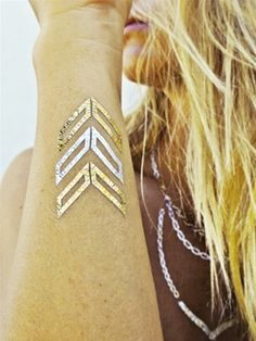 Flash Tattoos Lena Tattoo Pack as seen on Alessandra Ambrosio | Boutique To You