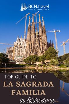 La Sagrada Familia is probably the most iconic and recognizable landmark in Barcelona. Learn everything you need to know to fully enjoy this Masterpiece of Antoni Gaudí. #lasagradafamilia #travelbarcelona #travelspain #travelblog #barcelonatravelguide Barcelona Travel Guide, Visit Barcelona, Barcelona Catalonia, Antoni Gaudi, Photo Location, Spain Travel, Unique Photo, Travel Destinations, Tours