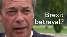 Brexit: Nigel Farage says he's worried about backsliding on Leave campai...