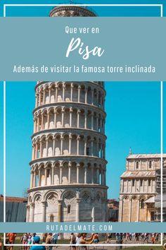 Visita la famosa torre inclinada de Pisa y otros lugares de la ciudad. #italia #pisa #turismo #viajar Pisa, Travel, Adventure Travel, Paths, Towers, Tourism, Cities, Italia, Viajes