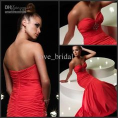 Wholesale Pageant Dresses - Buy 2013 Pageant Dresses Mermaid Red Sweetheart Crystals Floor Length Taffeta Prom Long Homecoming Formal Gown Online Shopping, $153.41 | DHgate