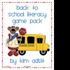 This packet contains 4 different literacy games, including one of the ever popular I Have, Who Has games, for Going Back to School. There are games...