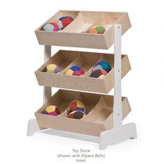 Oeuf Toy Store: beautiful toy storage!