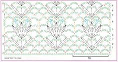 вязания крючком шали (2)