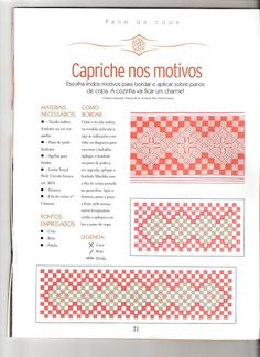 bordado tecido xadrez - margareth mi3 - Álbuns da web do Picasa