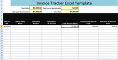 Excel Template For Invoice Alluring Subcontractorinvoicetempl  Excel Invoice Template  Pinterest