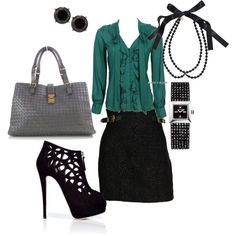 Office Chic and I have a black bag like this :)