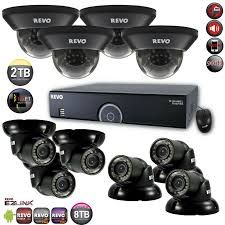 CCTV Surveillance Cameras         Covering multiple rooms and large exteriors, surveillance systems include multiple cameras, a digital recorder, hard drive, monitor and cables.