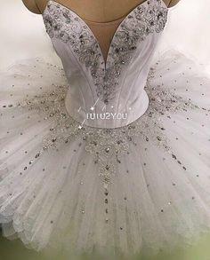 W-001 White professional ballet tutu