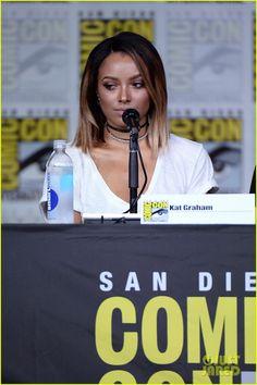 Kat Graham at #TVD Comic Con Panel 2016